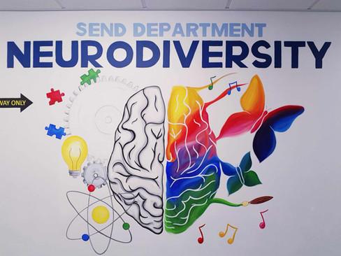 SEND Department Mural