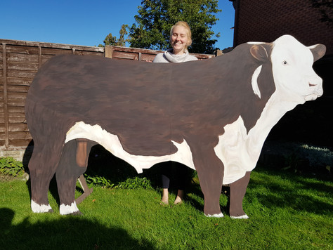 Replica of Couples Bull for Wedding
