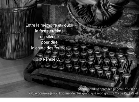 1er poème fondu...