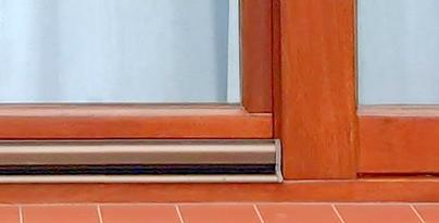 Okno drewniane po renowacji