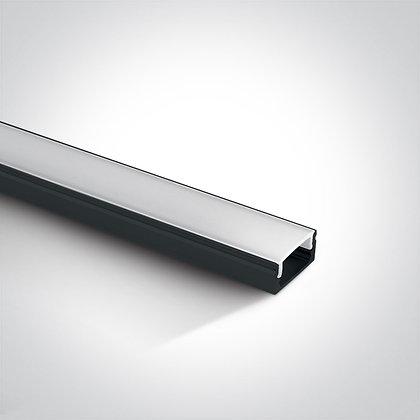 Алюминиевый профиль для LED ленты 7902/W