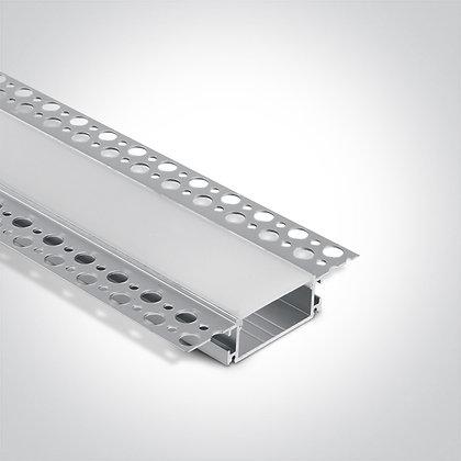 Алюминиевый профиль для LED ленты 7906TR/AL