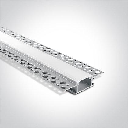 Алюминиевый профиль для LED ленты 7904TR/AL