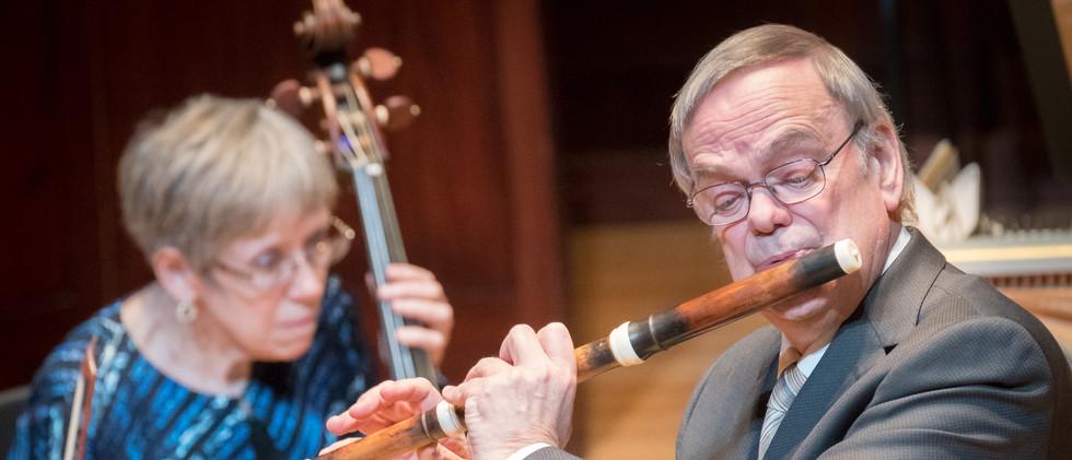 Barthold Kuijken, Baroque flute