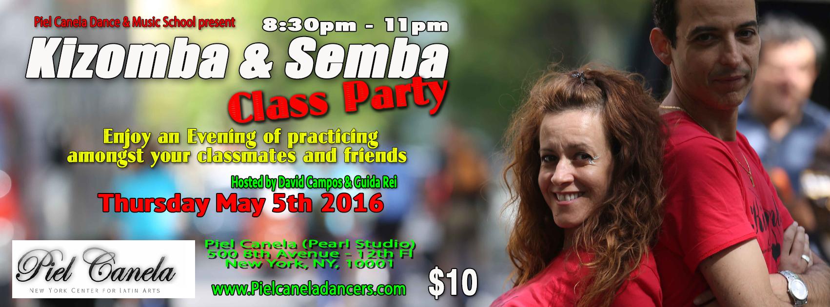 Class Party Piel Canela