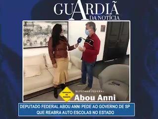 Depurado Abou Anni solicita abertura de Auto Escolas no Estado de São Paulo