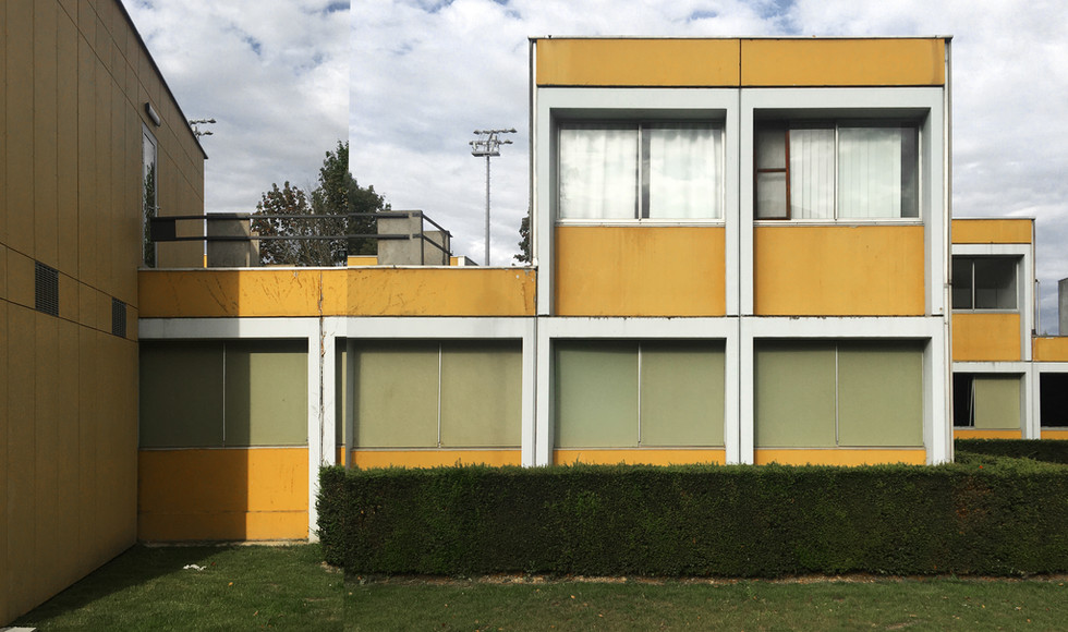 Willy Van Der Meeren, circular renovation of modernist student housing in Brussels