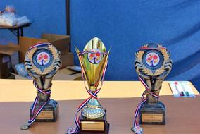 Des trophées prestigieux!