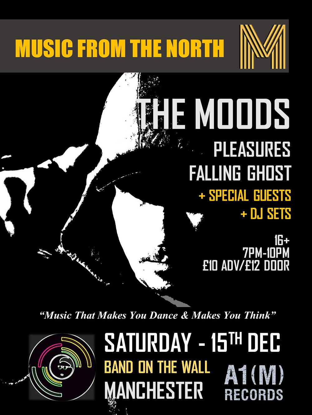 The Moods Live Gig A1M Records Record Label
