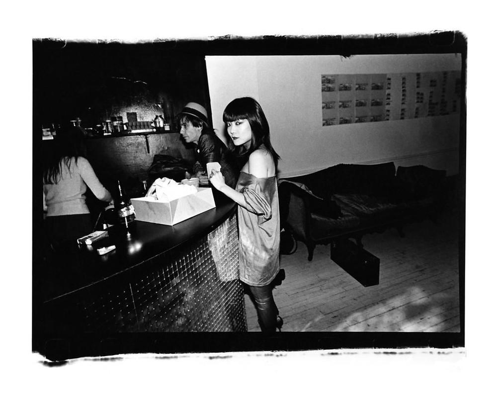 Anya Phillips and Iggy Pop by Julia Gorton