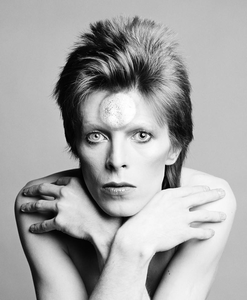 David Bowie fotografato dal fotografo musicale Masayoshi Sukita
