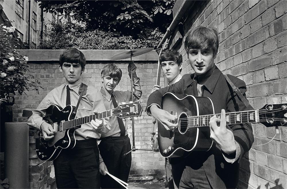 The Beatles fotografati dal fotografo musicale Terry O'Neill