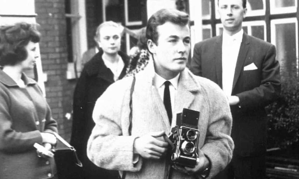 Il fotografo musicale Terry O'Neill nel 1961