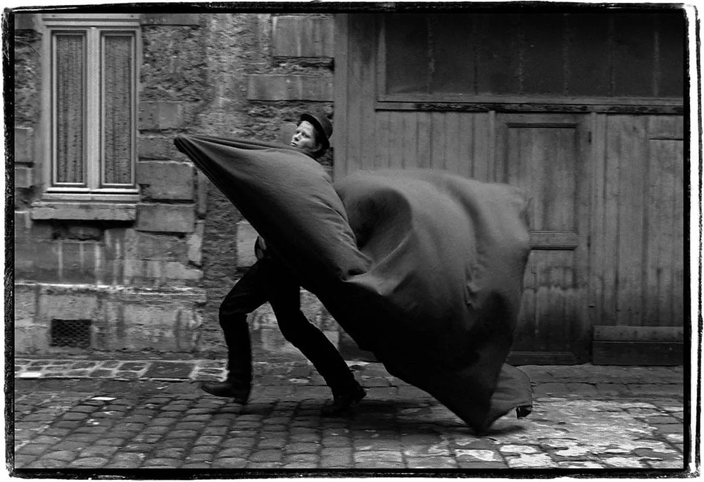 Tom Waits fotografato da Guido Harari