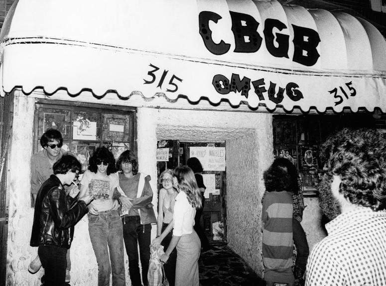 CBGB by Bob Gruen in 1977