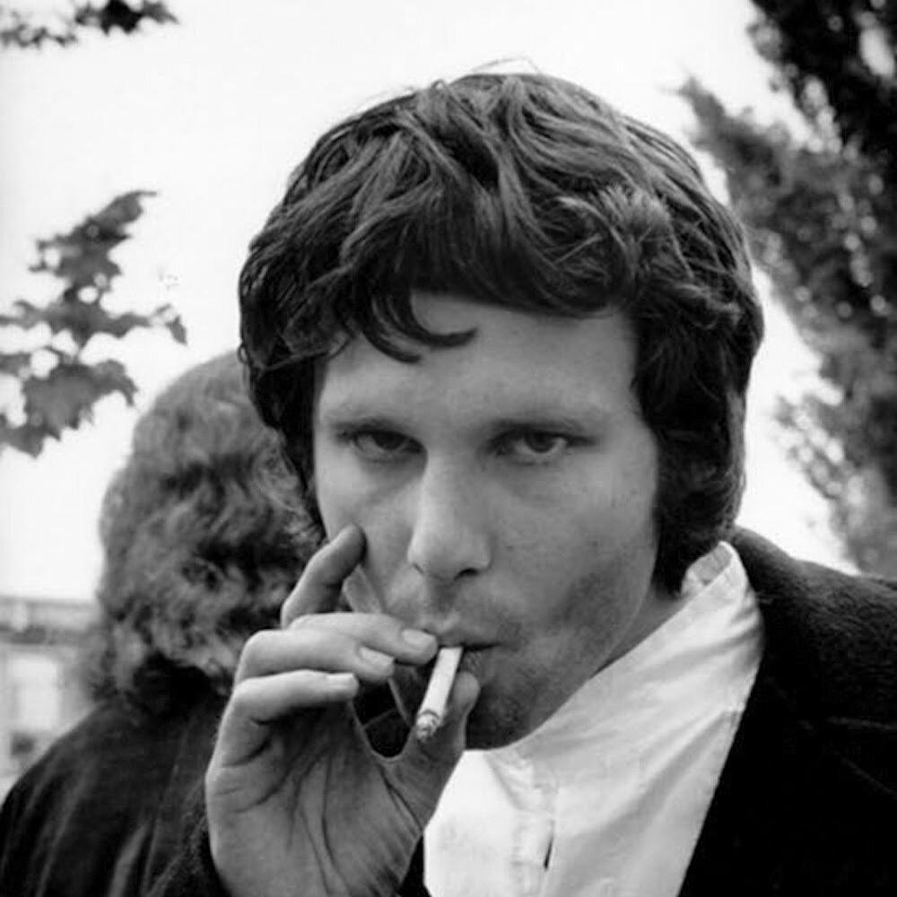 Jim Morrison fotografato da Jim Marshall