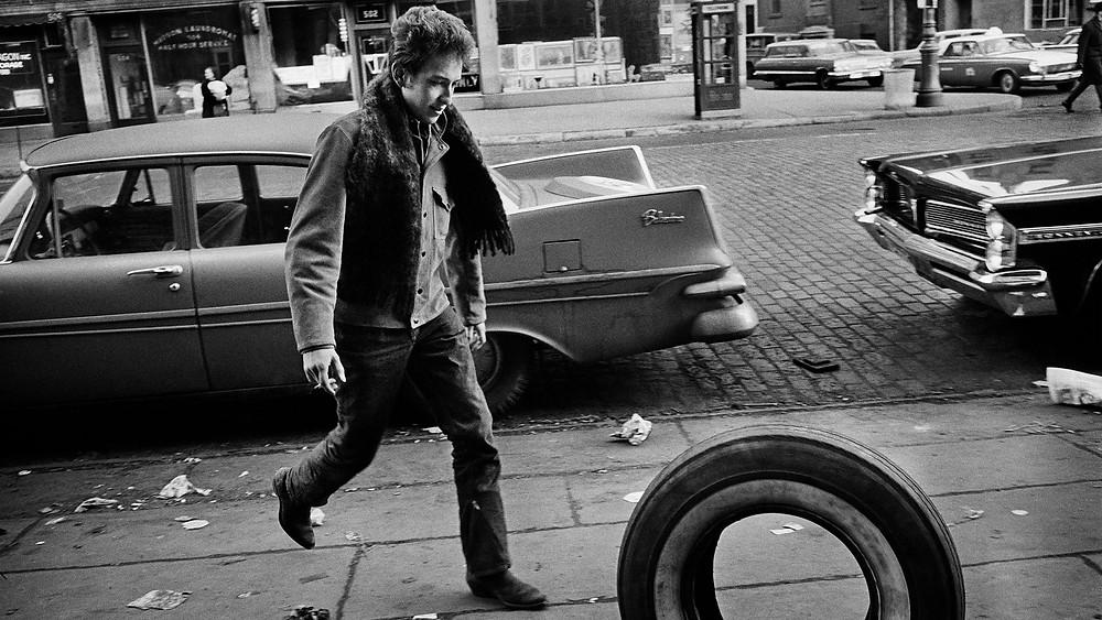Bob Dylan fotografato da Jim Marshall