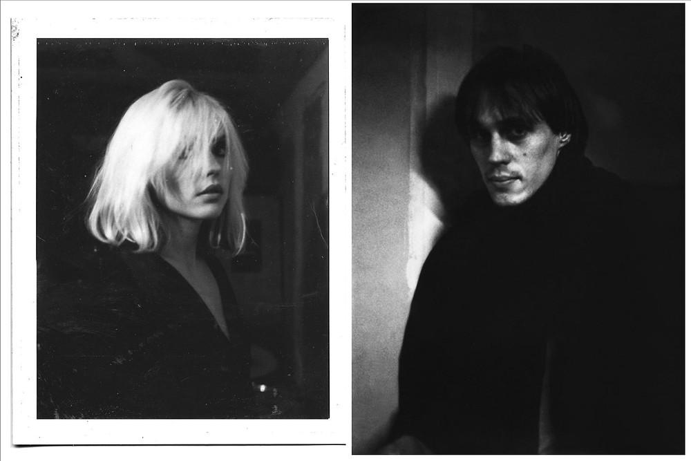 Debbie Harry e Tom Verlaine by Julia Gorton