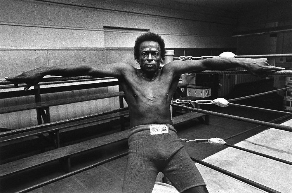 Miles Davis fotografato da Jim Marshall