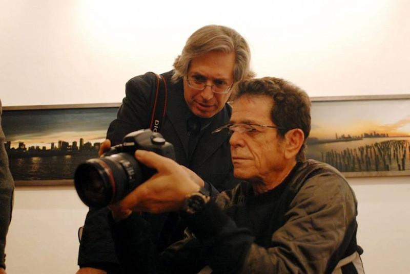 Guido Harari e Lou Reed © Wall of Sound