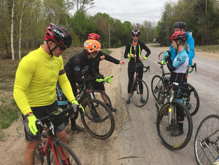 Saturday Morning Ride in the Rain!
