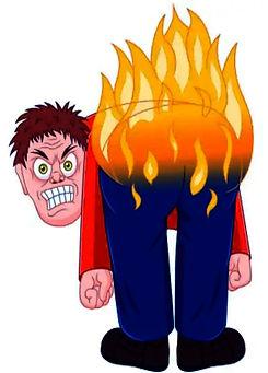 Burns my Ass!