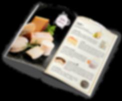 Diseño carta menú Barcelona