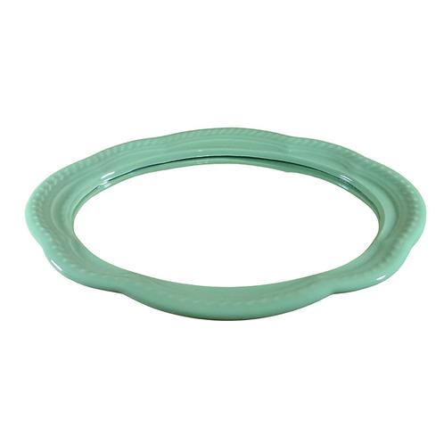 Bandeja - Verde Clara - Espelhada - Oval
