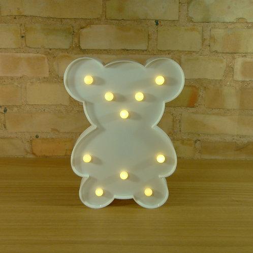 Urso - Branco - Led