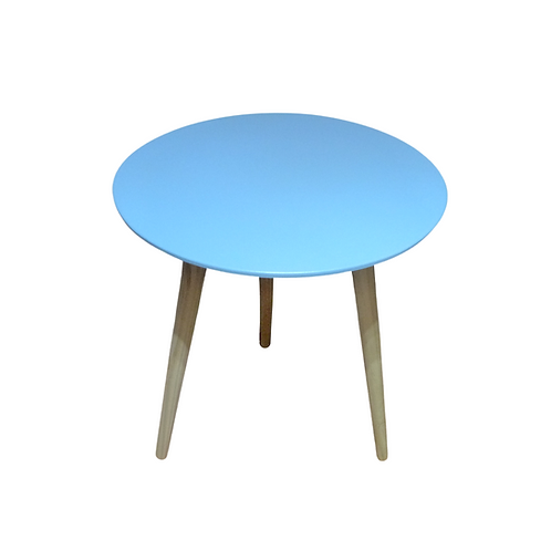 Mesa - Azul - Redonda