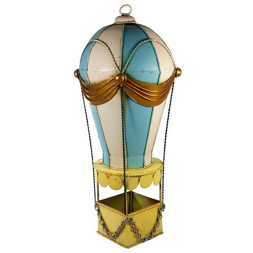 Aluguel de miniatura de balão na cor azul curitiba - Locação de miniatura de balão azul para aniversário curitiba - Aluguel d