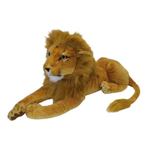 Pelúcia - Leão - Grande - Deitado