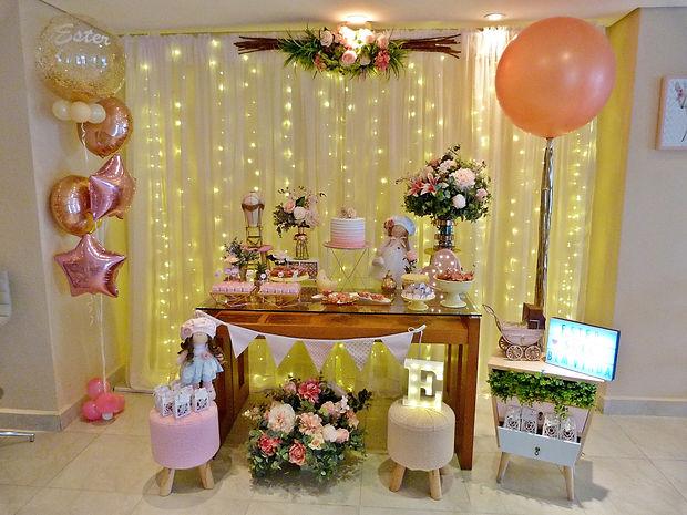 Decoração Festa Infantil Tema Boneca Russa