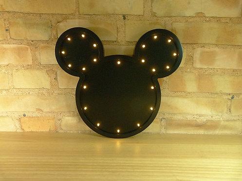 Cabeça Mickey - Led
