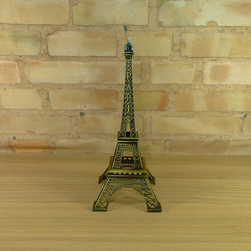 Torre Eiffel - Dourada - 32 cm