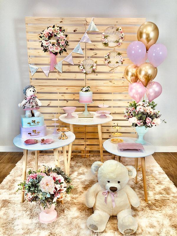 Decoração Festa - Chá de Bebê - Curitifestas Locações e Decorações