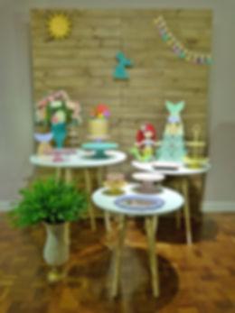 Decoração Festa Infantil Tema Pequena Sereia