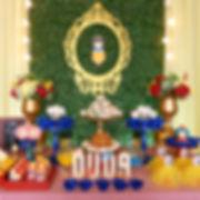 Decoração Festa Infantil Tema Branca de Neve