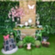 Decoração Festa Infantil Tema Jardim das Borboletas