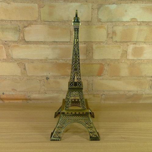 Torre Eiffel - Dourada - 38 cm