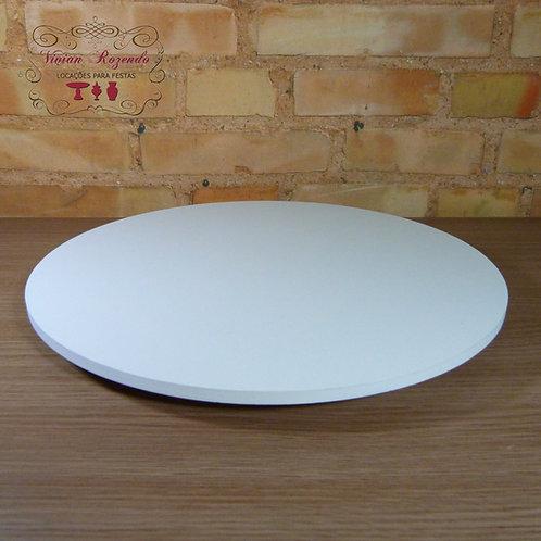 Boleira - Branca - MDF - 40 cm