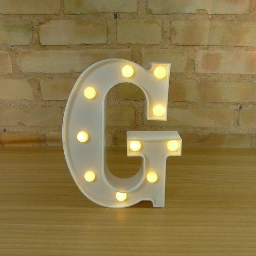 Letra - Luminosa - Led - G