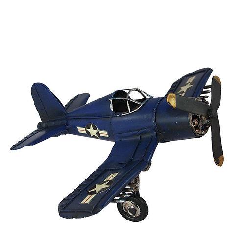 Avião - Azul Escuro - Pequeno