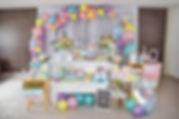 Decoração Festa Infantil Tema Chuva de Amor