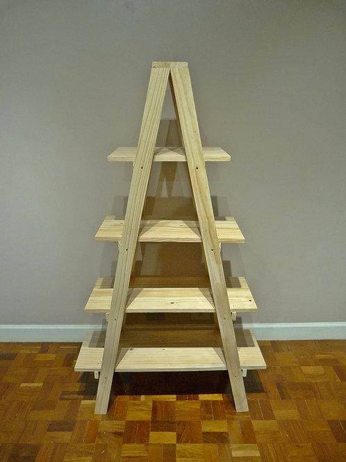 Escada de madeira para decoração de festas curitiba