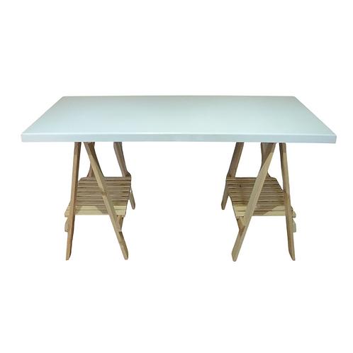Mesa - Branca - Cavalete