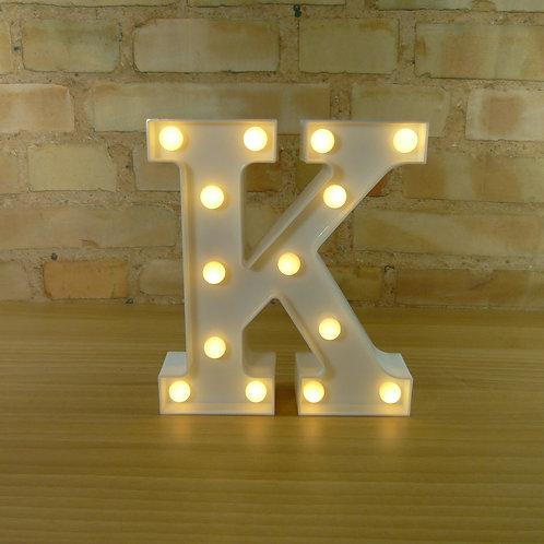 Letra - Luminosa - Led - K