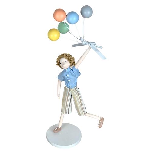 Boneco - Menino com Balões