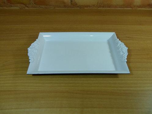 Bandeja - Resina Plástica - Branca