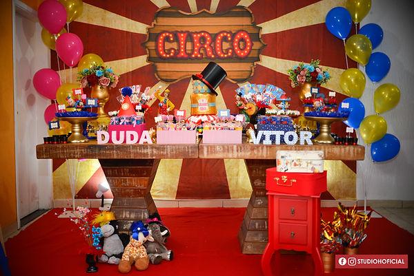 Decoração Festa Infantil Tema Circo